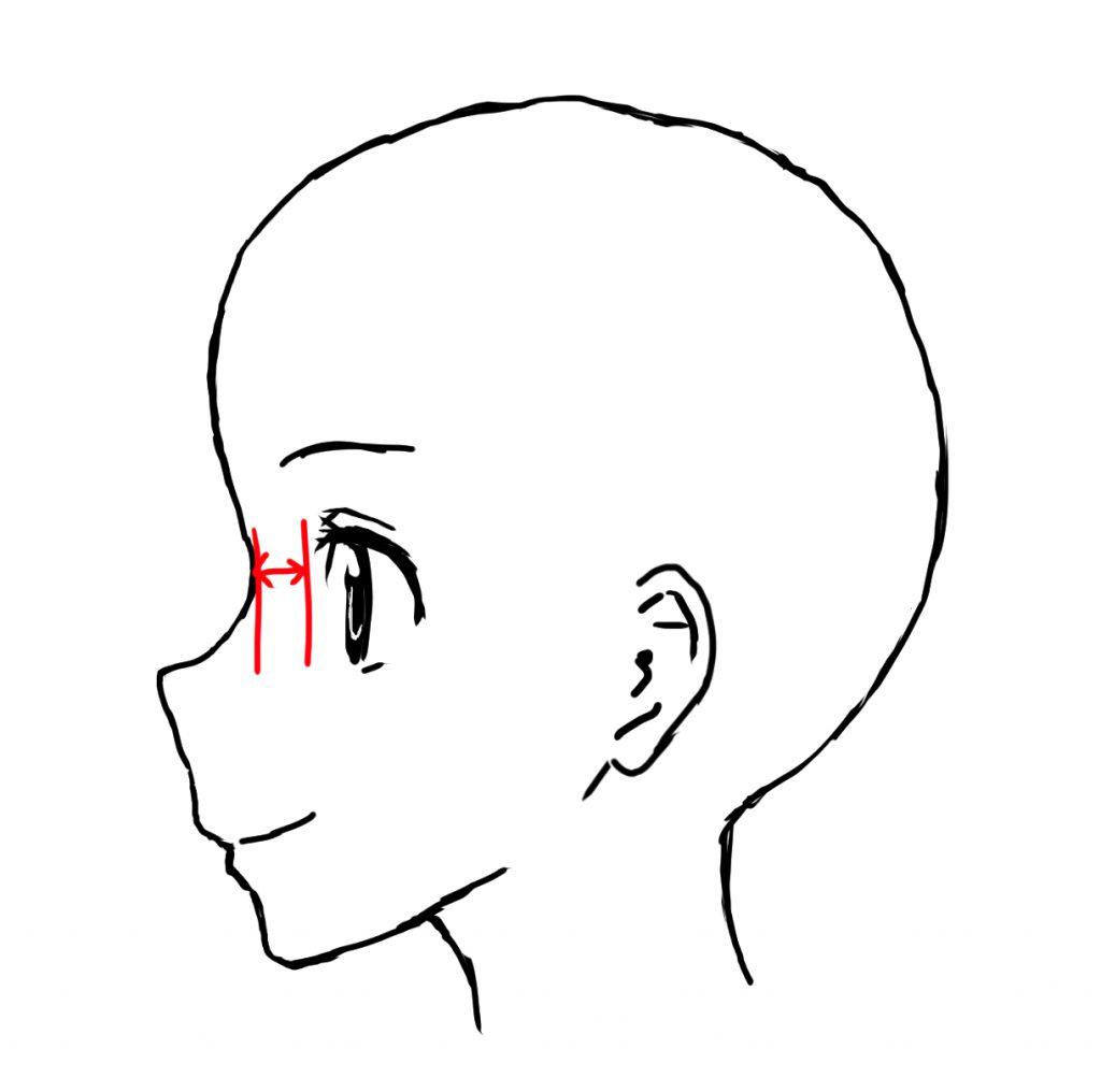 5分でわかる女の子の横顔の描き方のコツ 独学で神絵師になろう