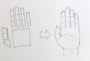 手の描き方 手のイラストを簡単思い通りに描く 独学で神絵師になろう